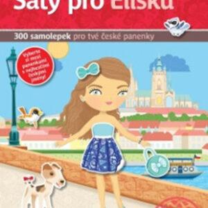 Šaty pro Elišku - kniha samolepek pro tvé české panenky - MVhracky.cz