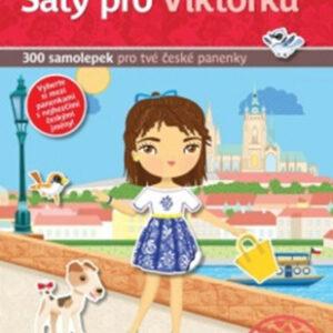 Šaty pro Viktorku - kniha samolepek pro tvé české panenky - MVhracky.cz