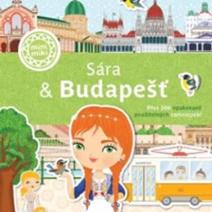 Sára & Budapešť - Město plné samolepek - MVhracky.cz
