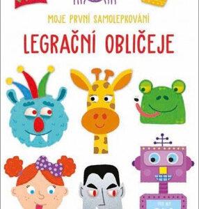 Legrační obličeje - moje první samolepkování - MVhracky.cz
