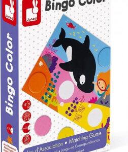 Bingo - učíme se barvy - MVhracky.cz