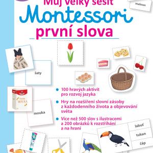 Můj velký sešit Montessori - první slova - MVhracky.cz