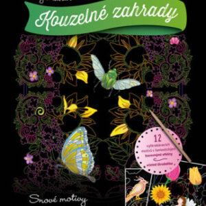 Vyškrabávací obrázky: Kouzelné zahrady - MVhracky.cz