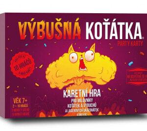 Výbušná koťátka: Párty karty - MVhracky.cz