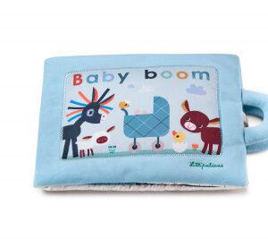 Lilliputiens - textilní didaktická knížka - Baby Boom - MVhracky.cz