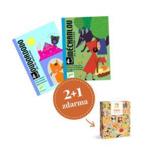 Balíček karetních her Djeco - Vyprávěcí hry