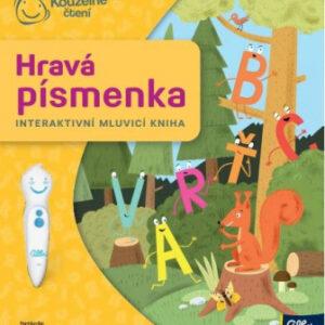 Kouzelné čtení - Kniha - Hravá písmenka - MVhracky.cz