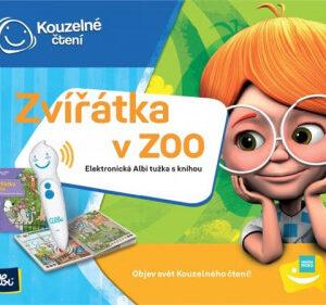 Kouzelné čtení - Elektronická Albi tužka + Zvířátka v ZOO - MVhracky.cz