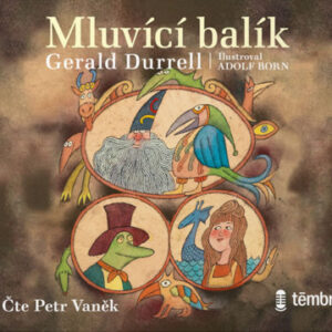 Mluvící balík - audiokniha CD MP3 - MVhracky.cz