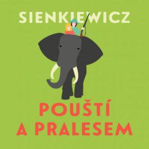 Pouští a pralesem  - audiokniha CD MP3 - MVhracky.cz