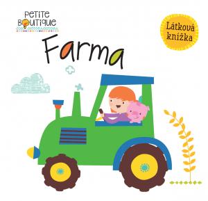 Látková knížka - Farma - MVhracky.cz