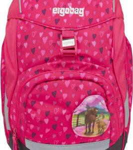 Školní batoh Ergobag prime - Pink Hearts 2021 - MVhracky.cz