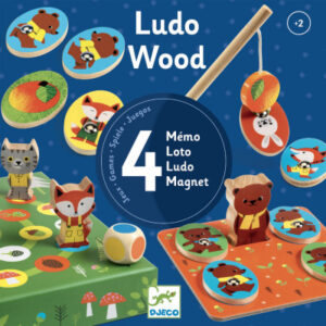 Ludo Wood – sada 4 her (v lese) - MVhracky.cz